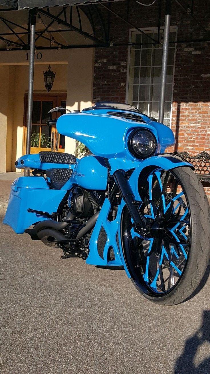 "#harley 2014 Harley-Davidson Touring Harley Davidson Street Glide Custom Bagger 30"" Wheel please retweet"