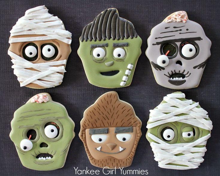 Cupcake Monster Cookies. Yankee Girl Yummies