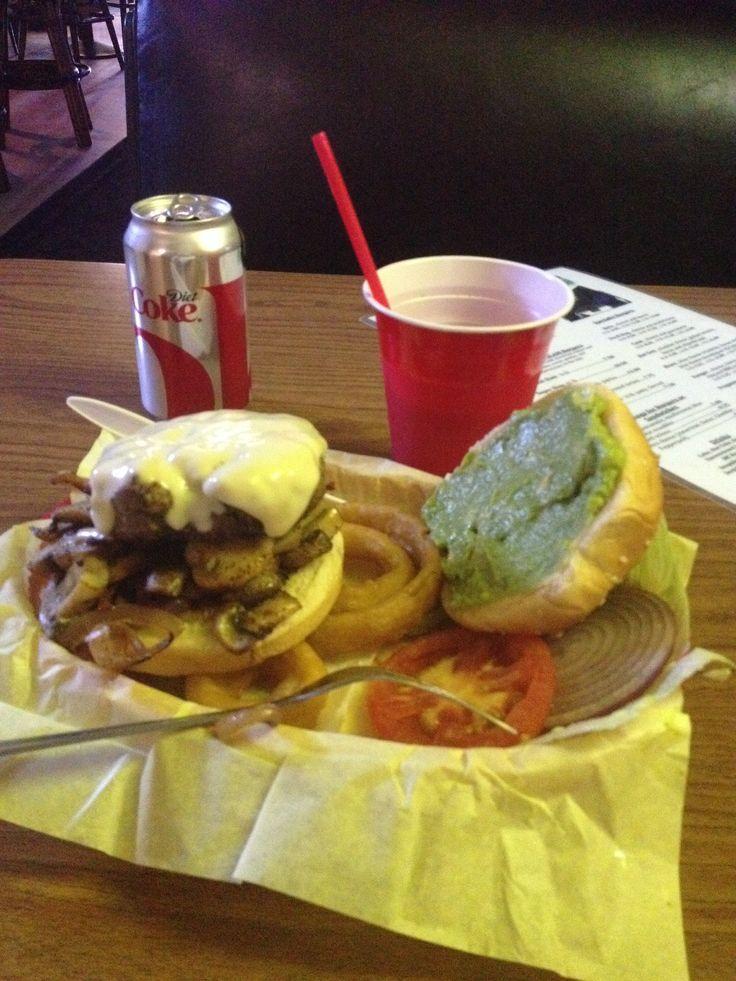 Frogman burger from Danny's Palm bar and grill, Coronado ...