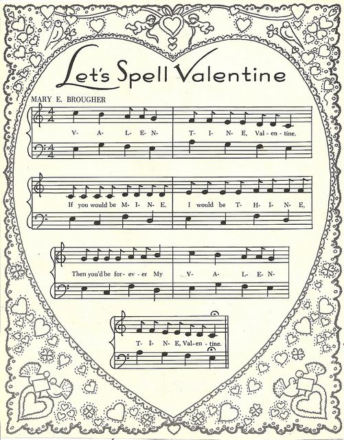 valentine music...heart