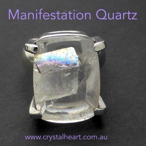 Ring Manifestation Quartz RK3
