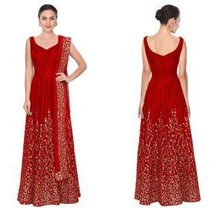 Red Embroidered Anarkali Salwar Suits With Price Rs 6,080. NPR $59.00 USD Whatsapp/viber+91-9731153006 #indiandresses #indianlehengacholi #heavylehenga #stonework #instagram #salwarkameez #anarkali #bollywood #party #trending #gifting #salwarkameez #indianwear#indiansaree #bollywood #models
