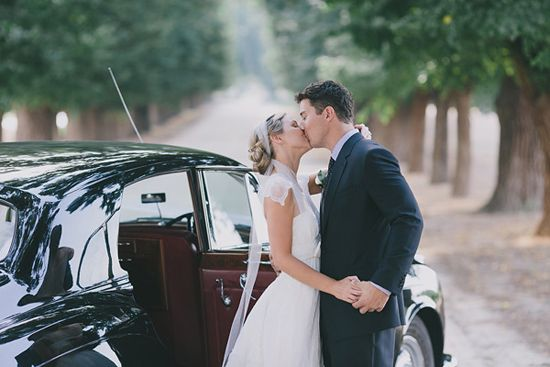 Julia and Luke's Romantic Rutherglen Winery Wedding