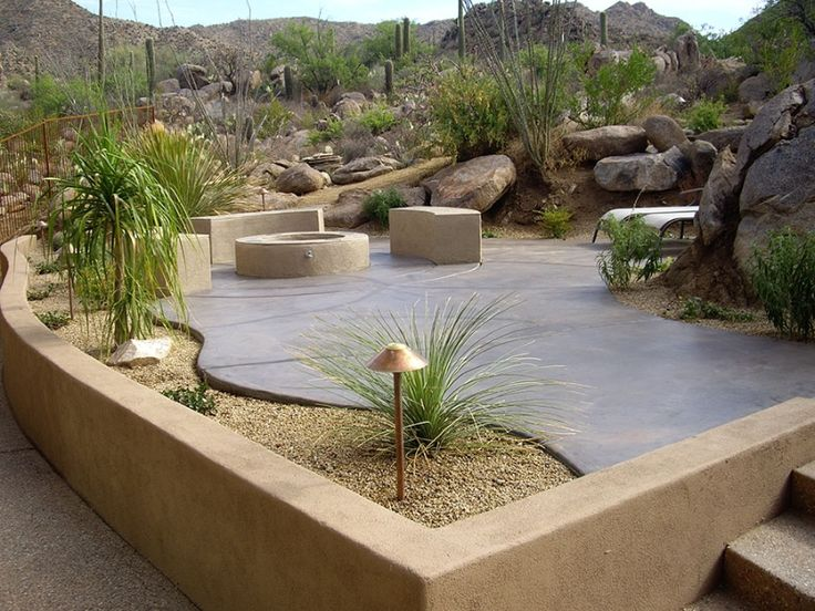 Landscaping Idea Gallery Tucson Arizona Large Backyard