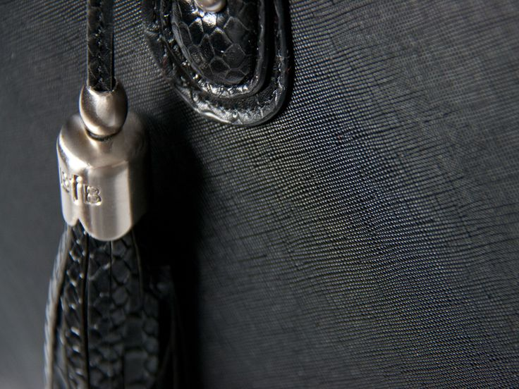 Jennifer's tassel with brushed nickel cap adds that extra element of style and designer quality.