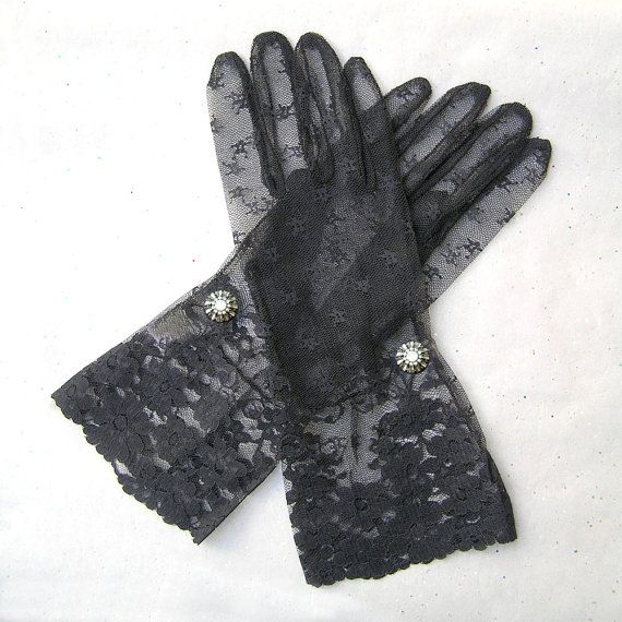 Hey, I found this really awesome Etsy listing at https://www.etsy.com/listing/212713717/black-lace-gloves-bridal-lace-gloves