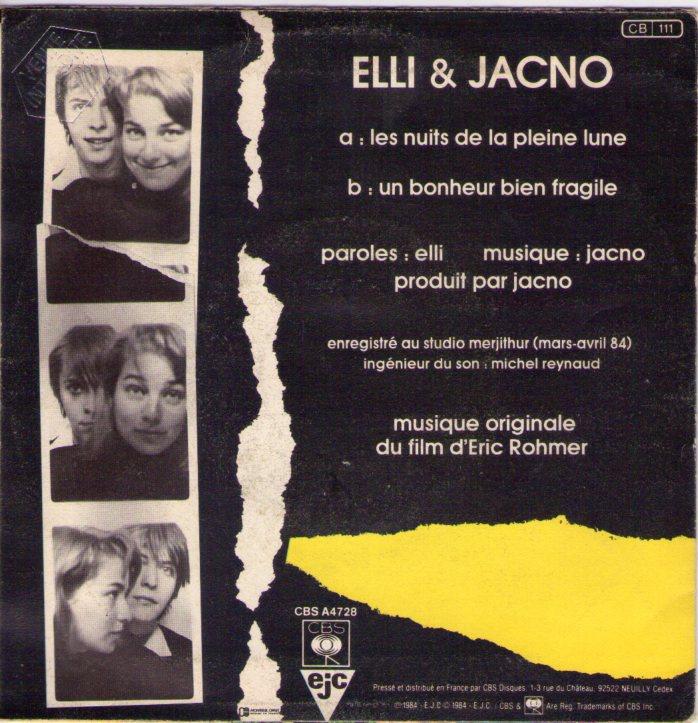 Elli Jacno Le Telephone
