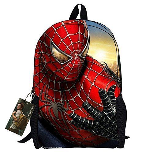 School Backpack Spiderman Bags Kids Superheroes Boys Ultimate New Style Books  #SchoolBackpackSuperheroes #Backpack