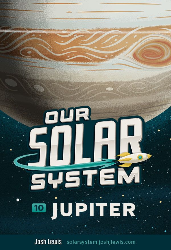 New post: Learn about Jupiter, the 5th and largest planet orbiting our sun.  http://solarsystem.joshjlewis.com/jupiter.html