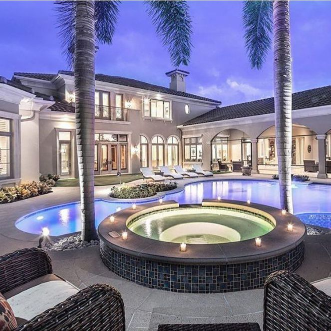 Luxury Mansions With Pool: 292 Best Rich Houses With High End Landscaping Images On