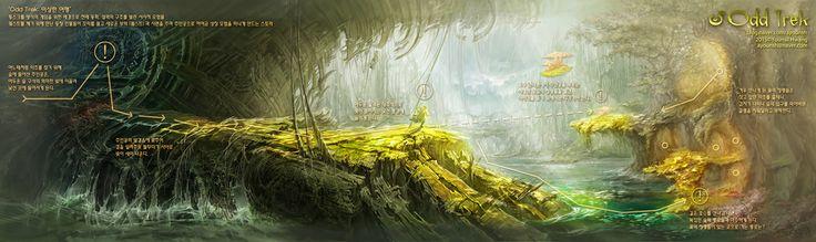 GGSCHOOL, Artist 황윤실, Student Portfolio for game, 2D Scene Concept Art, www.ggschool.co.kr