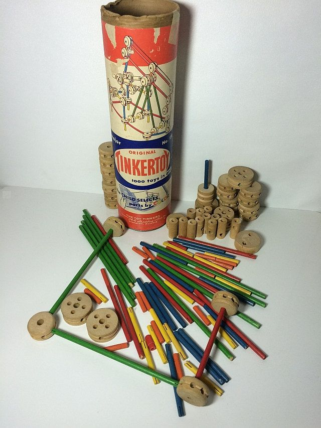 Tinker Toys For Boys : Architecture toys and vintage on pinterest