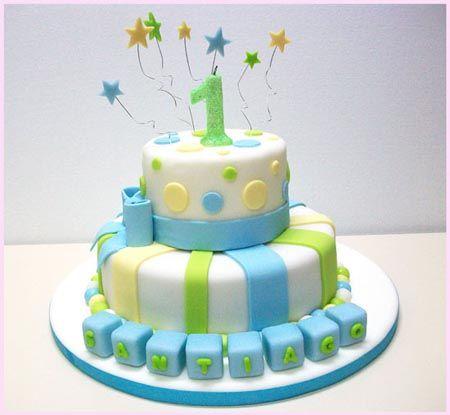 Torta de cumpleaños de 1 año - Imagui