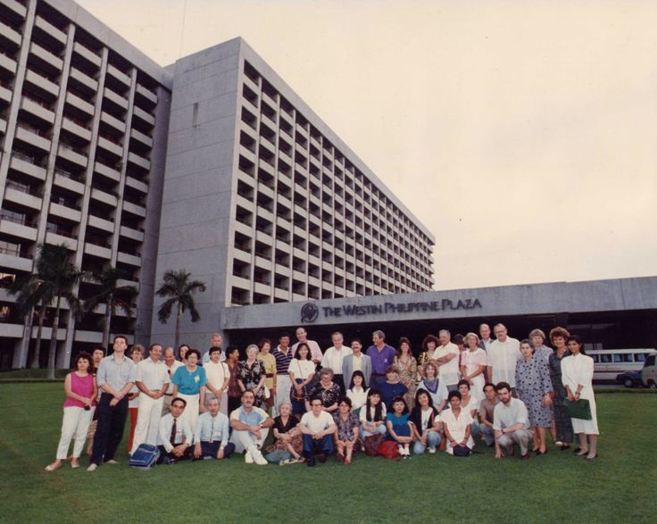 1989 - Federation EIL General Assembly in The Philippines. #50EILIRL