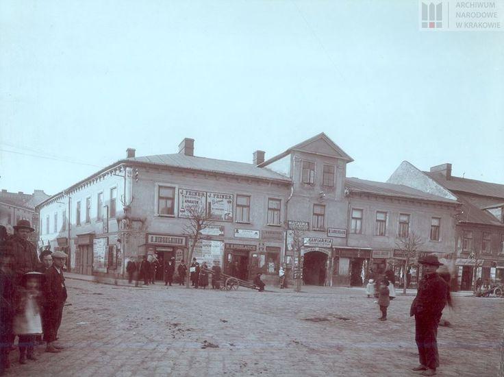 Dom pod Jeleniem przy Rynku w Podgórzu, początek. XX w.