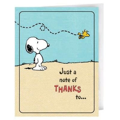 28 best Snoopy Thank You images on Pinterest | Peanuts snoopy ...