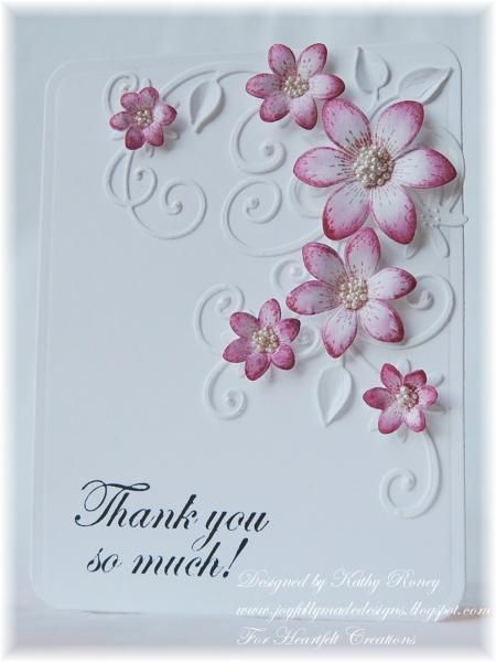 Sun Kissed Thank You by rosekathleenr - Cards and Paper Crafts at Splitcoaststampers