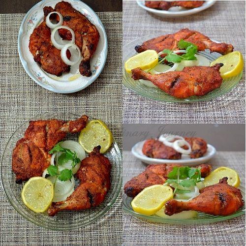 Divya's culinary journey: Tandoori Chicken/ Tandoori Murgh- In Oven