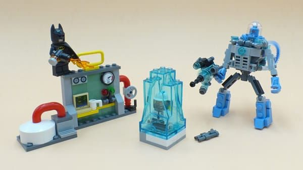 Vite testé : 70901 Mr. Freeze Ice Attack: Dans une gamme de sets LEGO, il faut évidemment quelques produits d'appel abordables qui… #LEGO