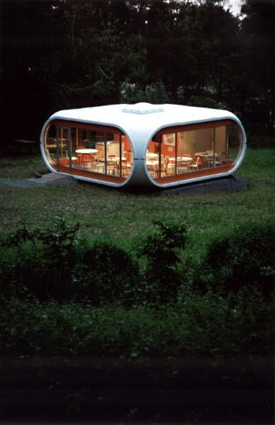 Venturo House - Matti Suuronen. I had totally forgotten these and was just blown away how cool they were.