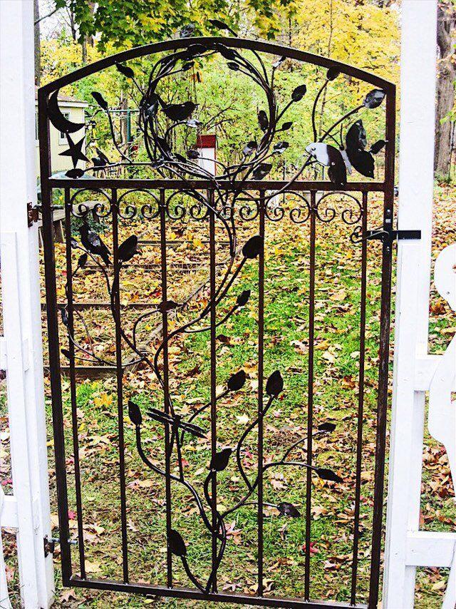 Garden gates from my #etsy shop: Metal Gate, Garden Gate ...