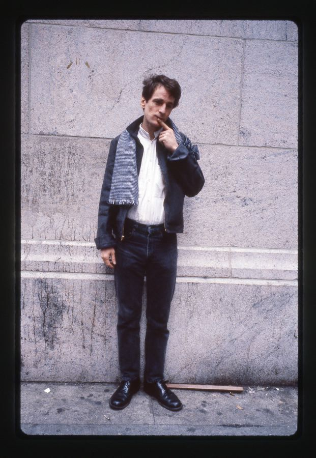 Alex Chilton shot by Godlis near Grand Central Station early 90s | I had the great honor of seeing Alex play as Big Star at a local Seattle music festival in 2000 (back when Bumbershoot didn't suck) | He was backed by members of The Posies | This was one of my favorite live performances of all time | Still can't believe he's gone | godlis.blogspot.com