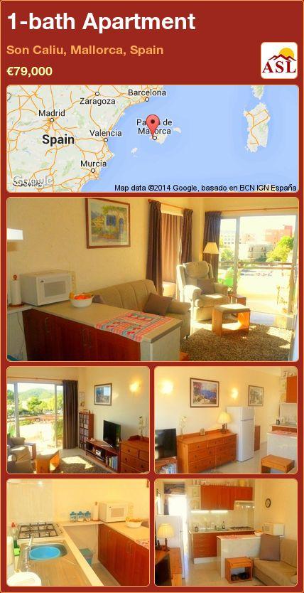 1-bath Apartment in Son Caliu, Mallorca, Spain ►€79,000 #PropertyForSaleInSpain