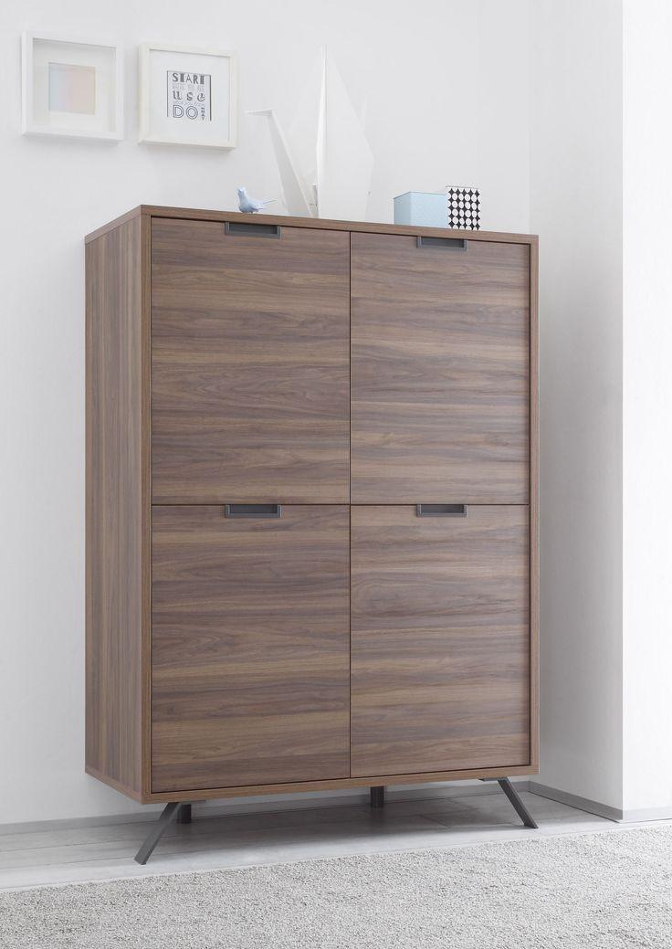 Highboard Nussbaum Woody 12-01014 Holz Modern Jetzt bestellen unter: https://moebel.ladendirekt.de/wohnzimmer/schraenke/highboards/?uid=8978646b-aadb-5a74-96e6-3c4895553934&utm_source=pinterest&utm_medium=pin&utm_campaign=boards #highboards #schraenke #wohnzimmer