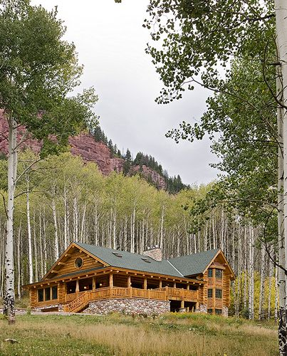 17 best images about log cabin living on pinterest log for Cabin builders montana