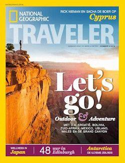 4x National Geographic Traveler € 14,95: Ga op reis met het tijdschrift…