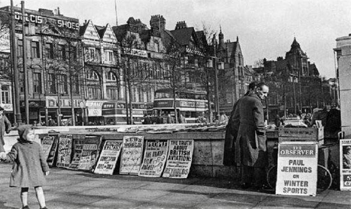 Nottingham Square around 1950's.
