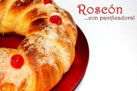 Roscón de Reyes en la panificadora