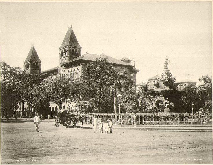 Flora Fountain, Bombay, c. 1900