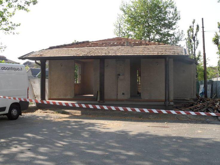 iniziato smantellamento copertura tetto