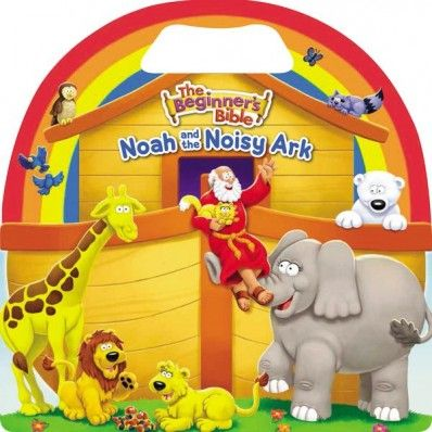 If you love the Beginner's Bible, check out the brand new artwork on the new board book Noah and the Noisy Ark!