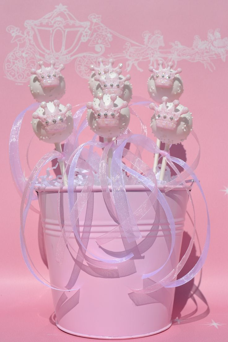 Princess cake pops for wedding favors and unique occasions from icing and lace x