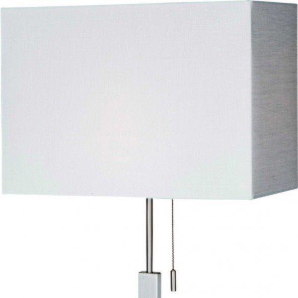 Lampenkap K1009Q, linnen wit