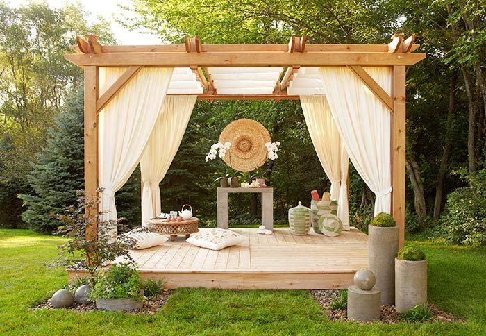 Now that we're smack dab in the middle of summer, you may be discovering that your backyard isn't as enjoyable or presentable as you hoped it would be. It's not fun to entertain guests only to have a nasty backyard. Here are a few fun and simple ideas that can make... #backyard #deck #landscape
