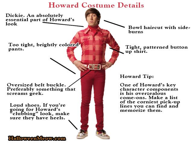 Howard Wolowitz...He's the ladies man that still lives with his mother. Howard Wolowitz is the only one of the group who doesn't have a doctorate, but he does have Bernadette and NASA. He's also got one hell of a wardrobe. So what does it take to be Howard Wolowitz?