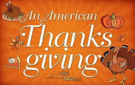 Happy 'Yanks'giving to our neighbours down south and to th0se celebrating here in Canada!