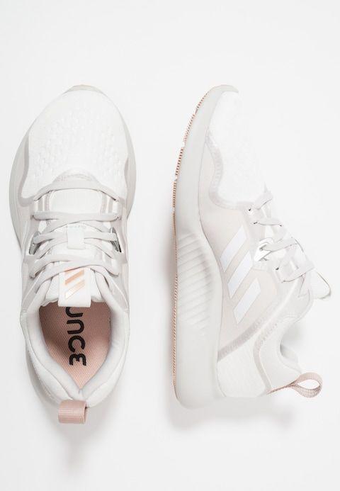 quality design f6079 1bcc2 adidas Performance EDGEBOUNCE - Nøytrale løpesko - footwear whitegrey  oneash pearl - Zalando.no