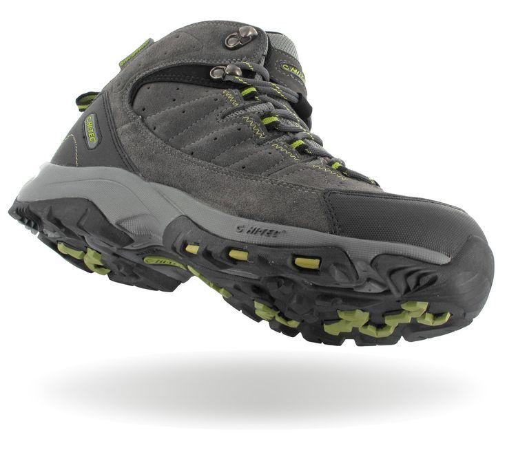 Високи мъжки туристически обувки Hi-Tec Otter Trail WP с водоустойчива дишаща мембрана Dri-Tec