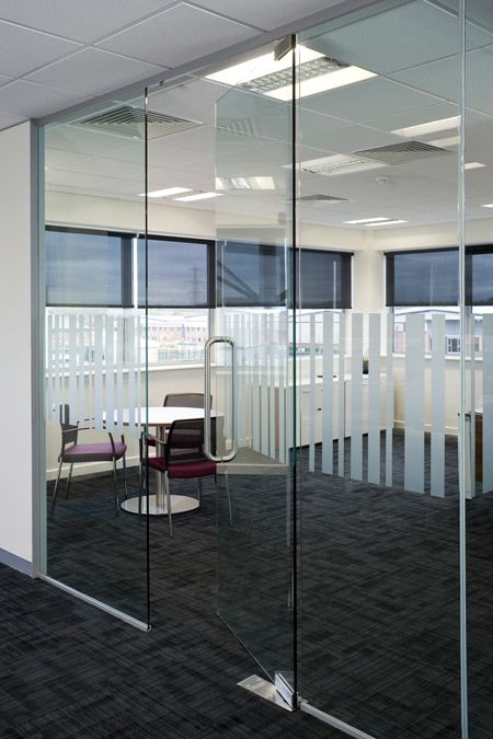Best 25 glass partition ideas on pinterest glass for Office design west yorkshire