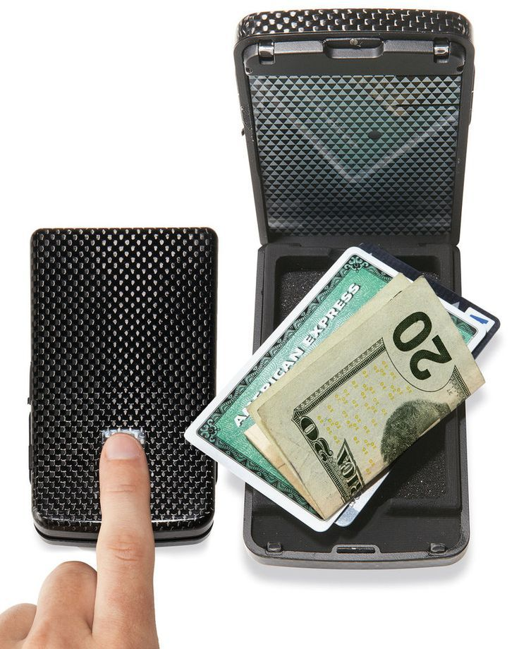 Biometric Fingerprint Wallet