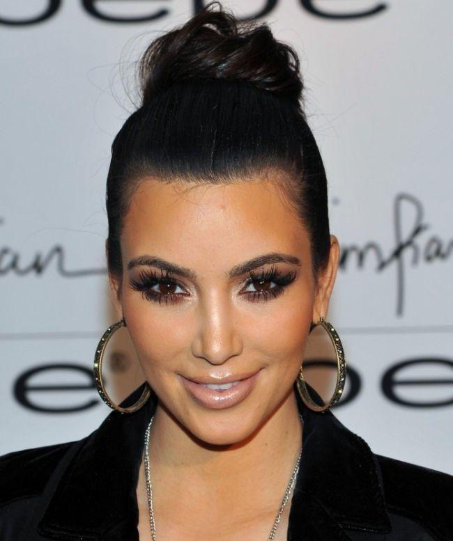 Permanent Eyelash Extensions | ... - Kim Kardashian Has Permanent Mink Eyelash Extensions - Softpedia