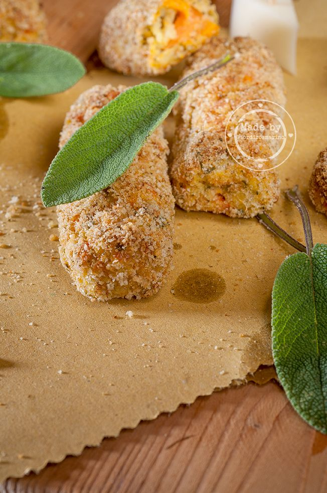 crocchette di verdure ♠ Fiordirosmarino