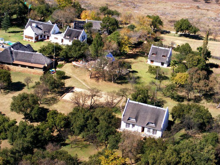 Mokoya Lodge | Southern Aerial View
