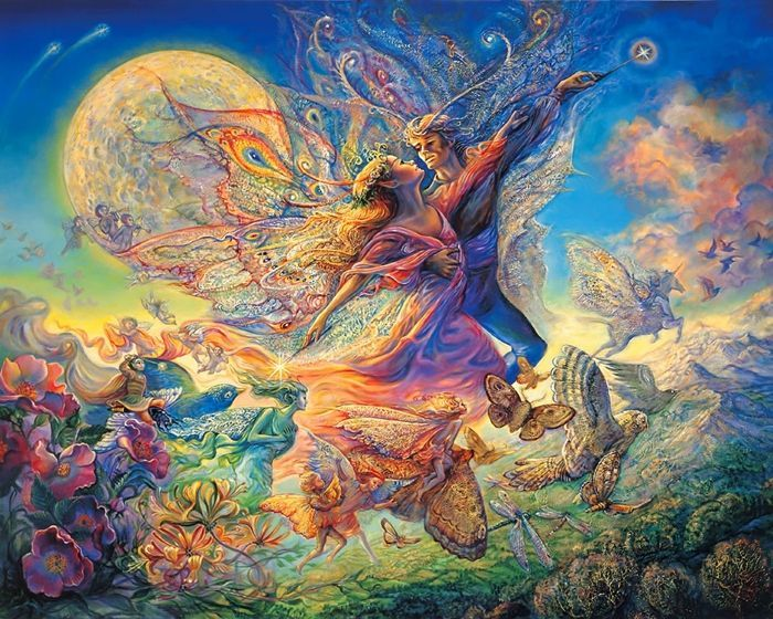 Josephine Wall 1947 Fantasy Painter Josephine Wall Art Fantasy Art