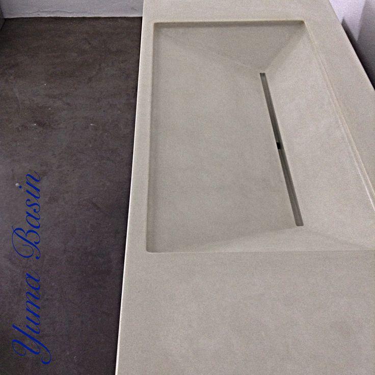 Yuma Basin. Concrete Sink, Concrete Basin.