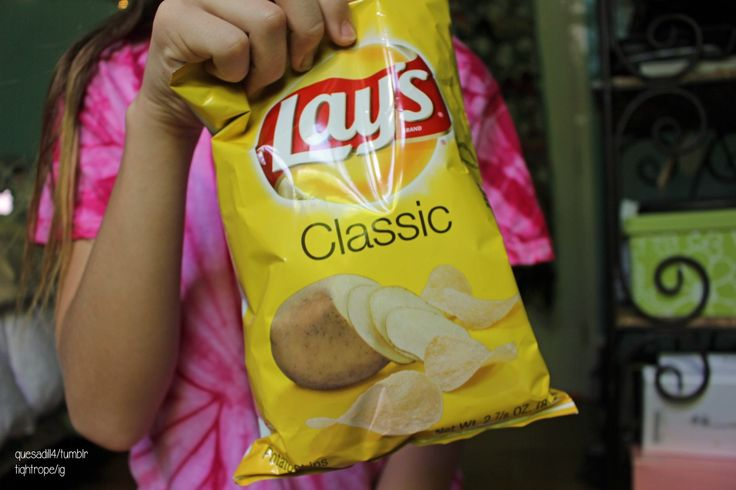 QOTD: favorite chip flavor AOTD: Dill pickle chips and Barbeque chips
